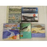 Five Cornish art books including Catching the Wave - Contempory Art and Artists in Cornwall;