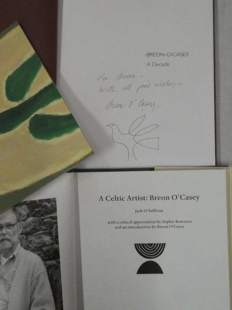 Breon O'Casey - Three volumes including Breon O'Casey - A Decade, - Image 2 of 2
