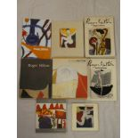 Roger Hilton - Eight various volumes including Roger Hilton - The Figured Language of Thought by
