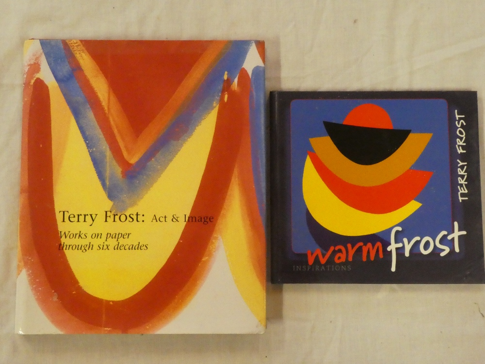 Terry Frost - Two books including Terry Frost - Act and Image, Works on Paper Through Six Decades,