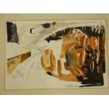 Tony Giles - watercolour Hemerdon Bell - GWR railway scene, signed, inscribed and dated 1977,