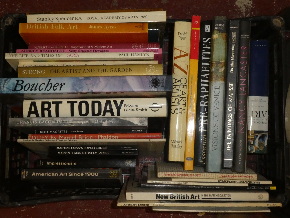 A large selection of art related volumes including World Art; Lucian Freud; - Image 2 of 4