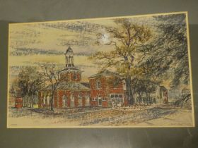 """Leslie Cant - pastel """"Lytham"""", signed and inscribed,"""