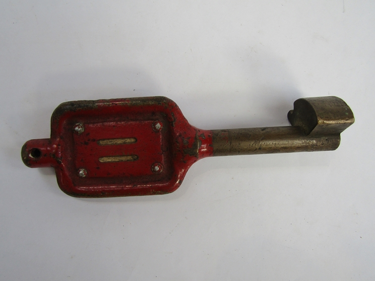 A single line token key BISHOP AUCKLAND - WOLSINGHAM - Image 2 of 2