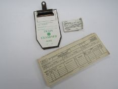 A quantity of B.R NER Bradford St Goods Tickets, blank loco for repair labels and B.