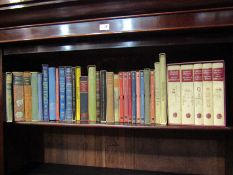 A good collection of Folio Society volumes including Shakespeare, Dickens,