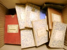 A large quantity of mainly early-mid 20th Century folding maps including Devonshire Sheet LXXXVIII
