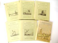 K.G. Farries: 'Essex Windmills, Millers and Millwrights' illustrated F.L.