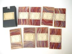 Eight circa late 19th Century to early 20th Century Ordnance Survey maps of Norfolk etc,
