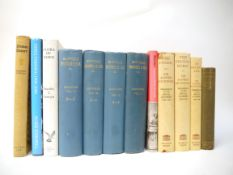 A small collection of books on East Anglia, including Copinger: 'Suffolk Records & MSS, etc',