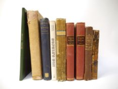 Nine Suffolk interest volumes including J J Howard (edited): 'The Visitation of Suffolk...