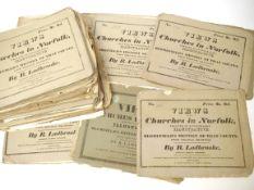 Robert Ladbrooke: 'Views of the Churches in Norfolk...