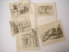 Robert Dixon: 'Sketches Illustrative of the Scenery of Norfolk', 1811, lacks title,
