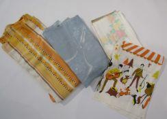 A 1950's Dorma label orange,