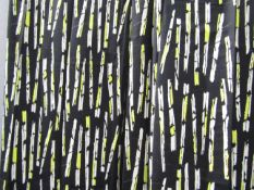 David Whitehead: Two pairs of 1950's/60's curtains,