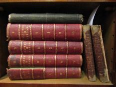 Hume & Stafford: 'The History of England', 4 vols, 135 steel engraved plates,