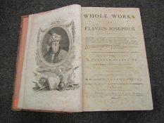 The Whole Works of Flavius Josephus, 1785, engraved plates, folio,