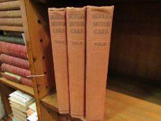 Judge: 'Modern Motor Cars', volumes 1-3,