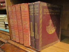 'Hutchinson's Beautiful Britain', 4 volumes, plus 'Belgium The Glorious,