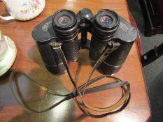 A pair of Carl Zeiss Jenoplem 10x50W binoculars