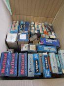 A quantity of mixed radio valves,
