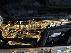A Blessing Elkhart Ltd alto saxophone,