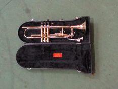 A Jupiter brassed trumpet a/f,