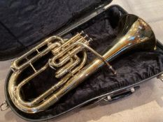 A Besson 700 model Eb tenor horn, serial number 752-768584,