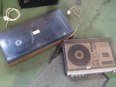 A Sharp stereo music centre and a Philips example (2)
