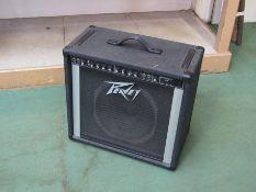 A Peavey Bandit 112 lead amplifier