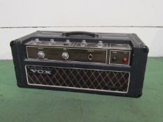 "A Vox 100 amplifier ""Foundation"","