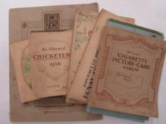 A quantity of cigarette cards and first day covers