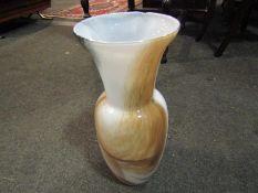 An art glass vase,