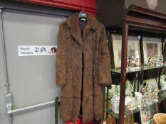 Kumar Bros' fur coat size 16