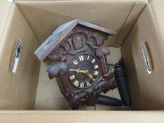 A Black Forest cuckoo clock