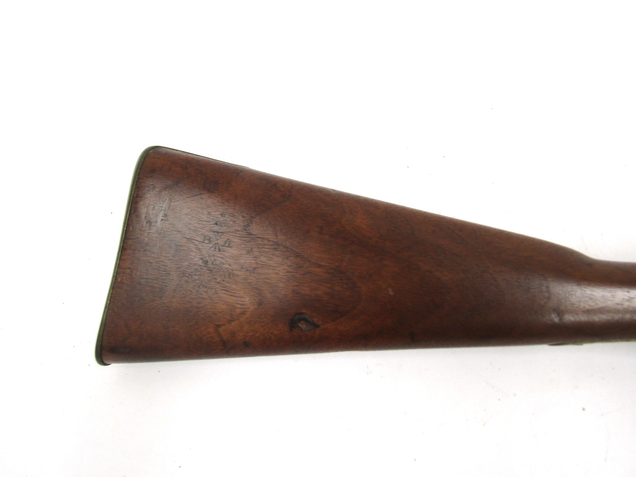 A Victorian East India percussion cavalry carbine, - Image 2 of 5