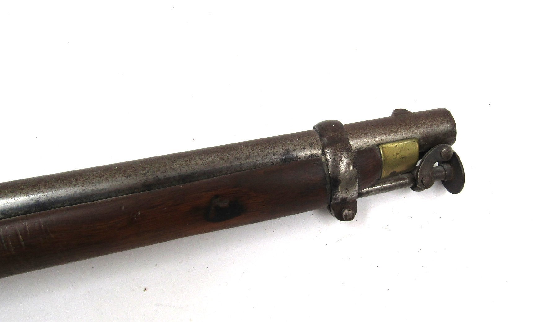 A Victorian East India percussion cavalry carbine, - Image 3 of 5