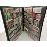 A collection of Commonwealth Christmas stamps 1957-74 mint sets