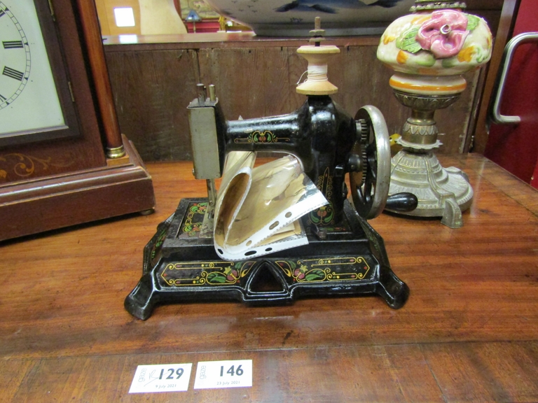 A Muller's sewing machine no.
