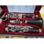An unbranded clarinet,