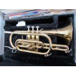 A Bundy by Selmer brass Cornet a/f,