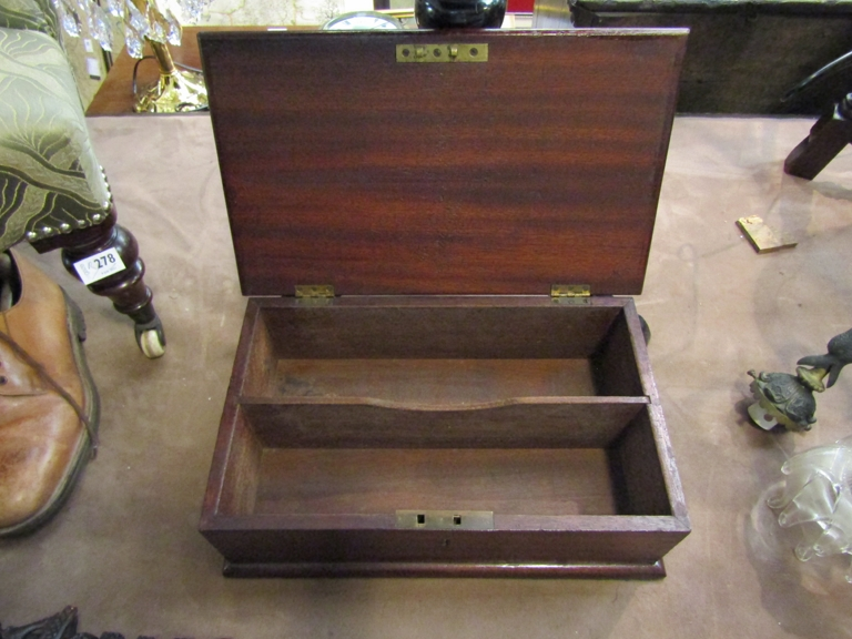 A Victorian knife box - Image 2 of 2