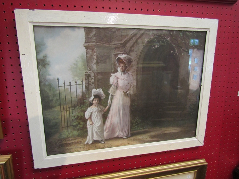 Vintage print, circa 1910 in the manner of Sir John Lavery (1856-1941),