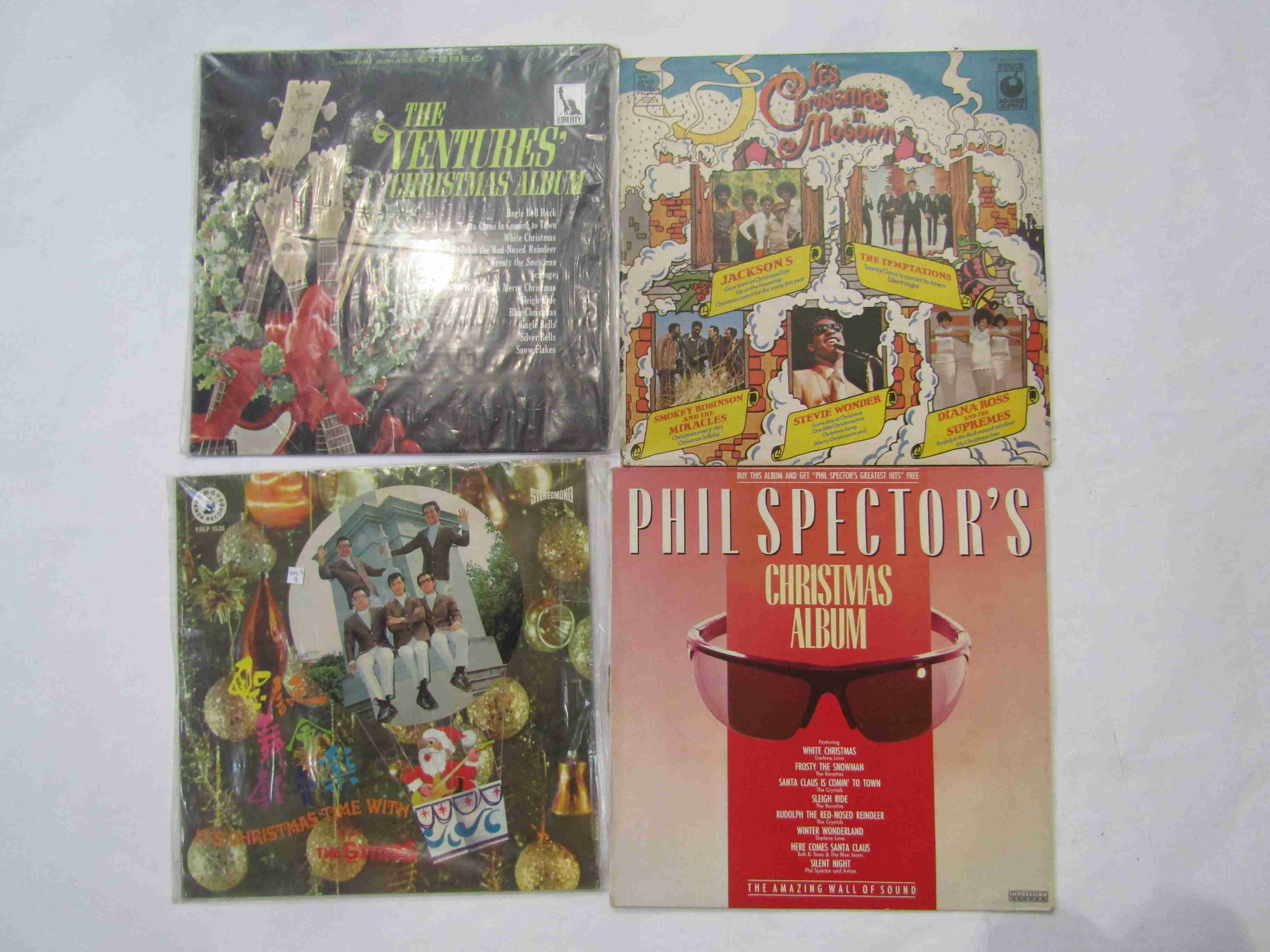 Four Christmas LPs to include 'It's Christmas Time With The Stylers',