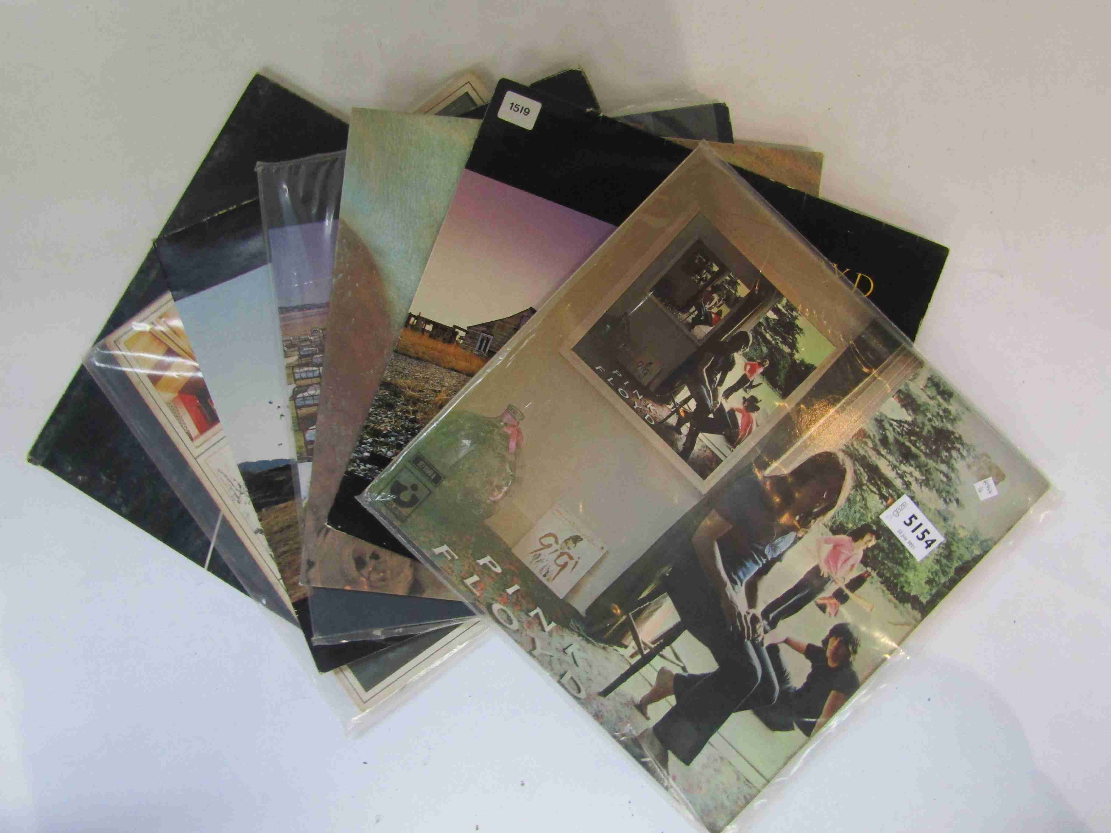PINK FLOYD: Assorted LP's including 'Dark Side Of the Moon', 'A Nice Pair',