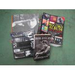Assorted Rock and Pop books including Bob Dylan, Paul McCartney, Donovan,