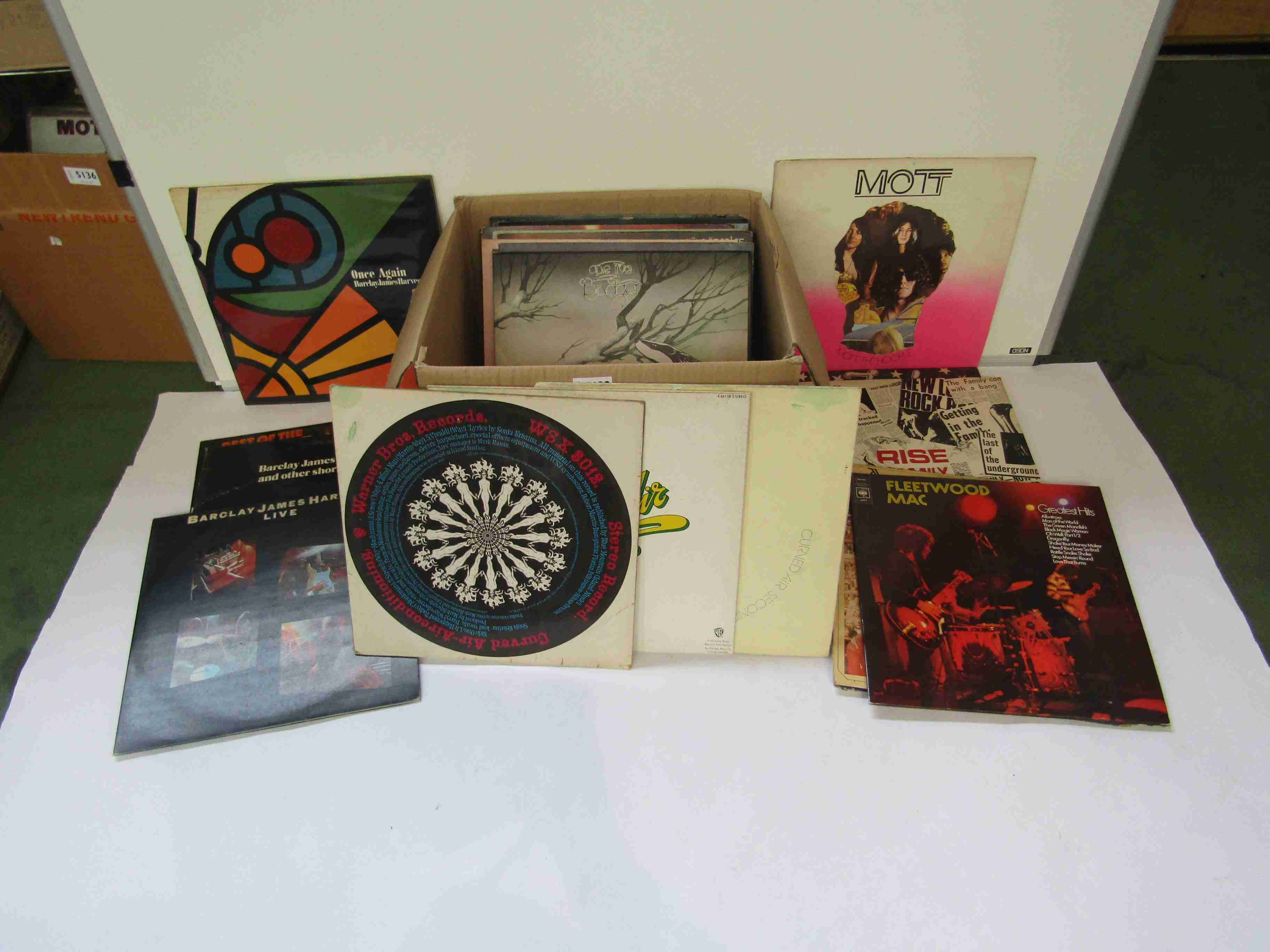 A collection of Prog Rock, Psychedelic Rock, Space Rock and other LPs including Hawkwind, Man,