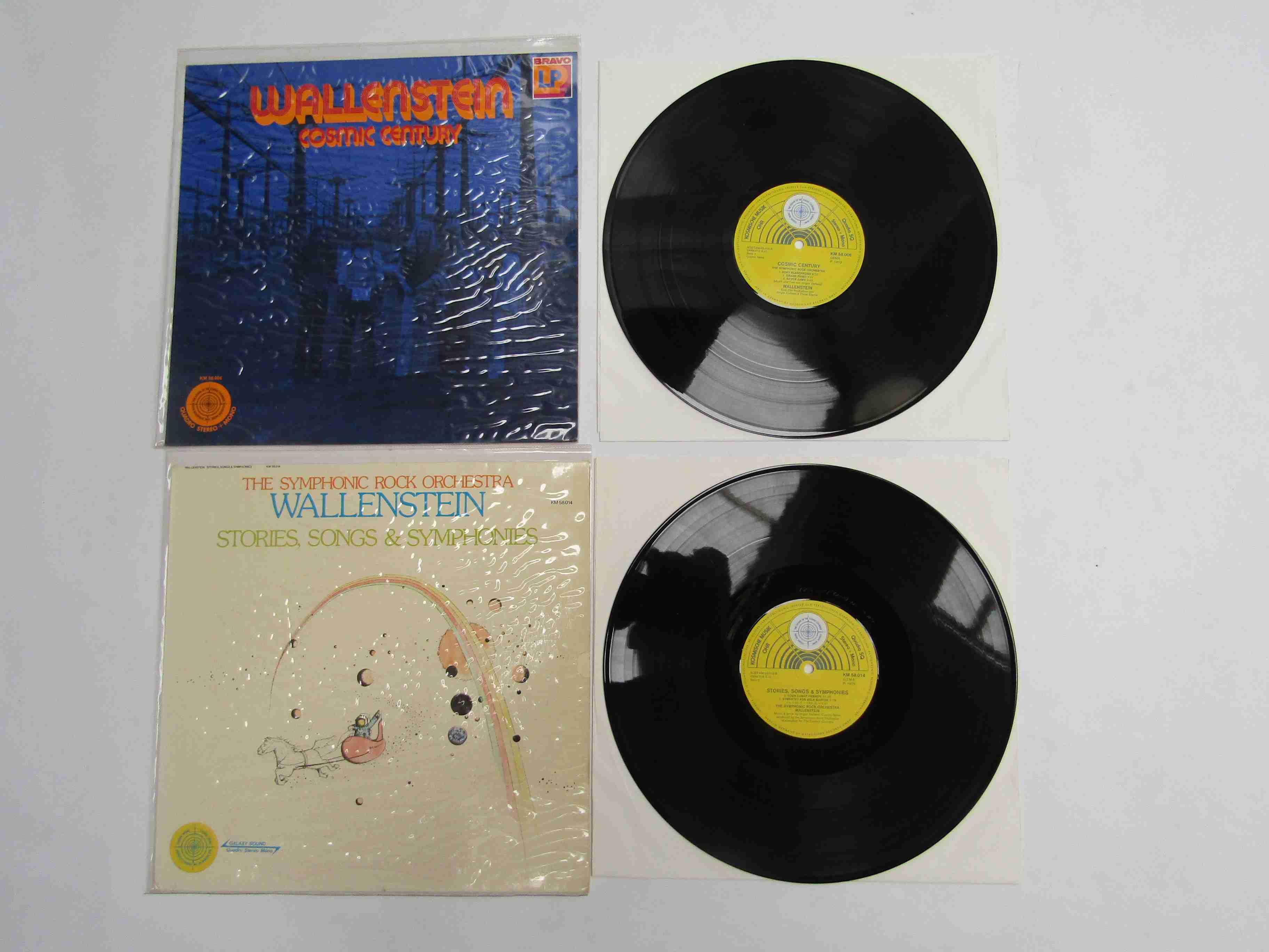 WALLENSTEIN: 'Cosmic Century' quadraphonic LP, Komische Musik KM 58.