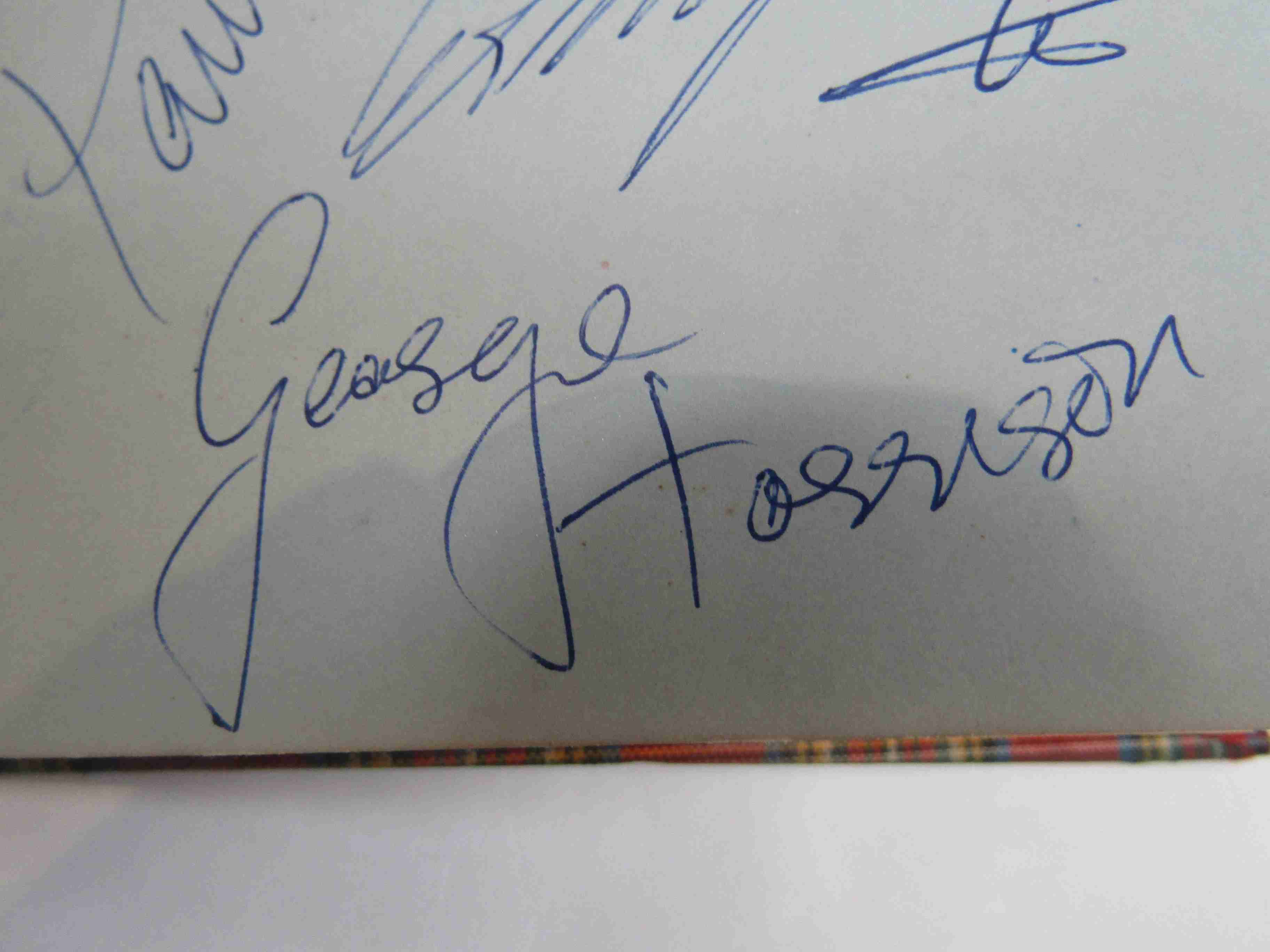 Two 1950s/60s autograph books containing autographs by Benny Hill, Honor Blackman, Barbara Shelley, - Image 5 of 34