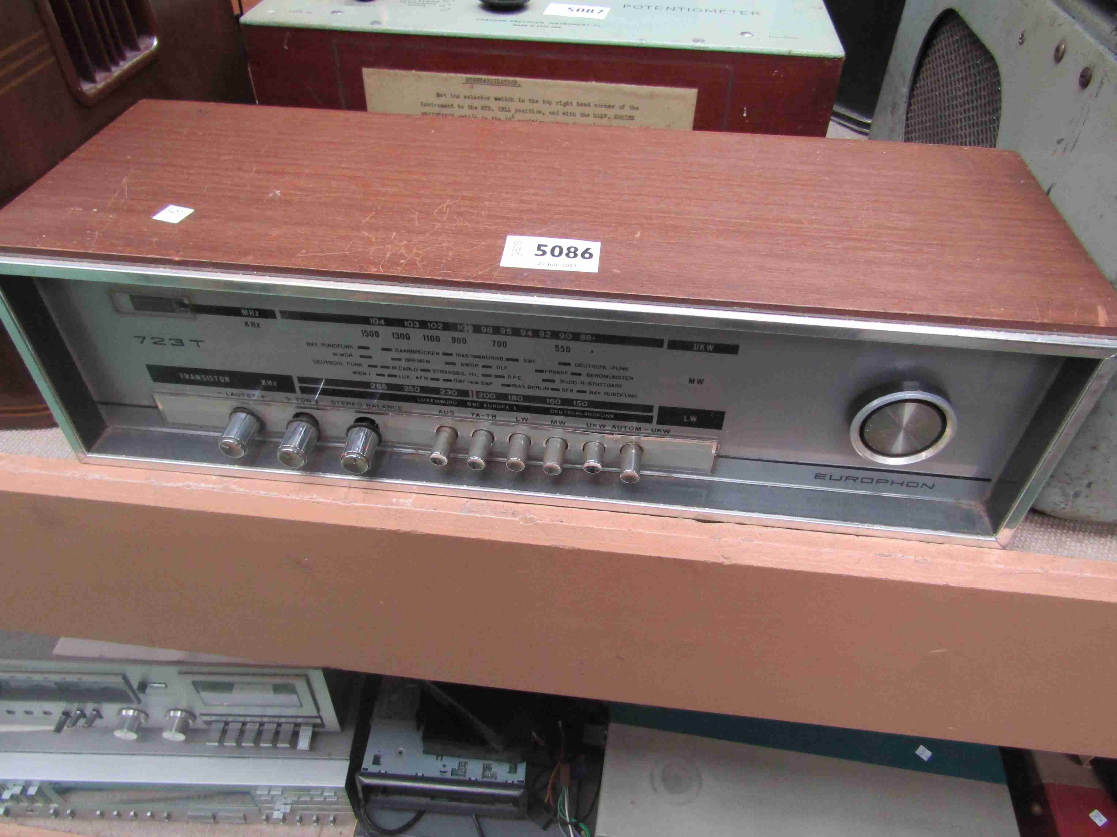 A Europhon 723T transistor radio